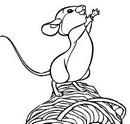 chú chuột dễ thương