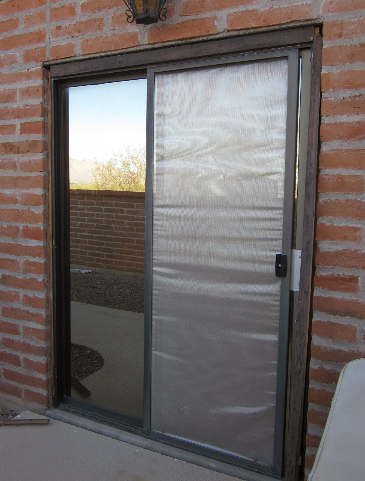 At Least I Will Project House Update Installing A Sliding Door
