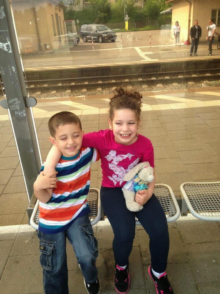 Ally e Ryan em Nuremberg