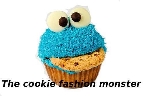 The cookie fashion monster