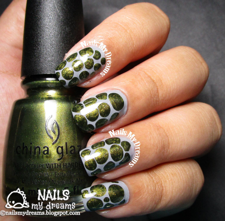 Nails My Dreams: My First Blobbicure Nail Art