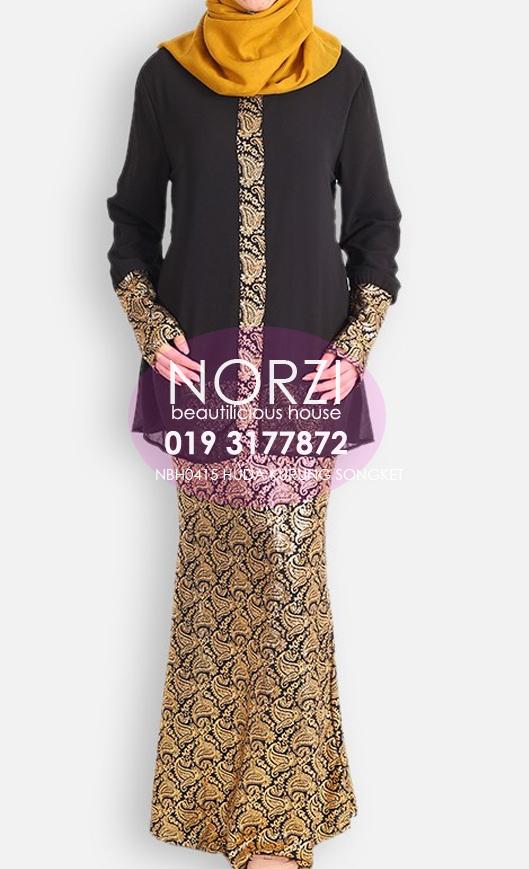 Baju Kurung Moden Kain Songket Sarawak | newhairstylesformen2014.com