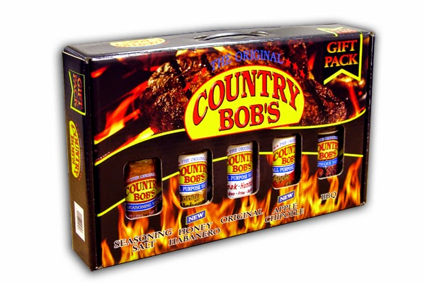 Enter the Country Bob's National BBQ Month Giveaway. Ends 5/29.