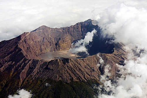 Crater of Mount Tambora, Indonesia