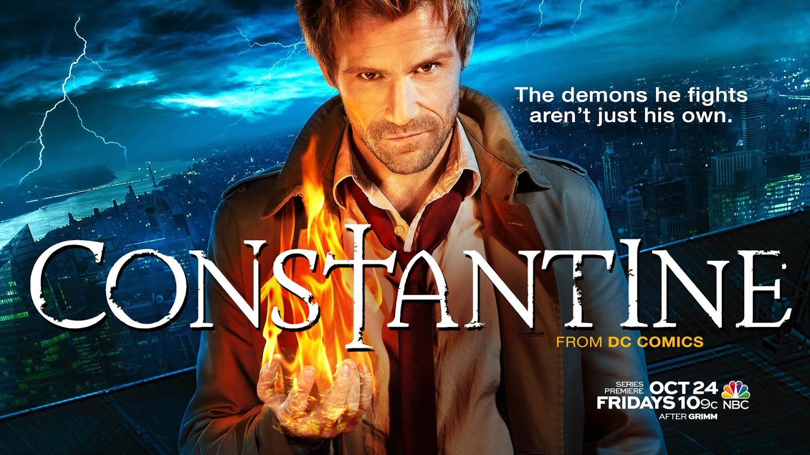 Constantine - Season 1 - 13 Episodes Only, Season 2 Still in Contention at NBC