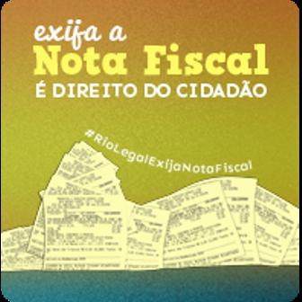 Exija a Nota Fiscal