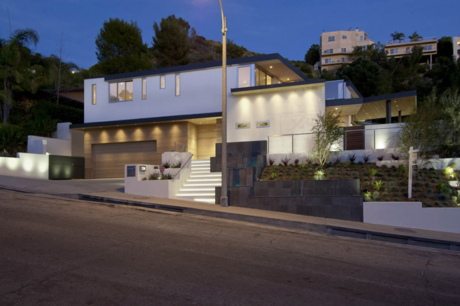Casas Minimalistas Y Modernas Casa En Las Colinas De