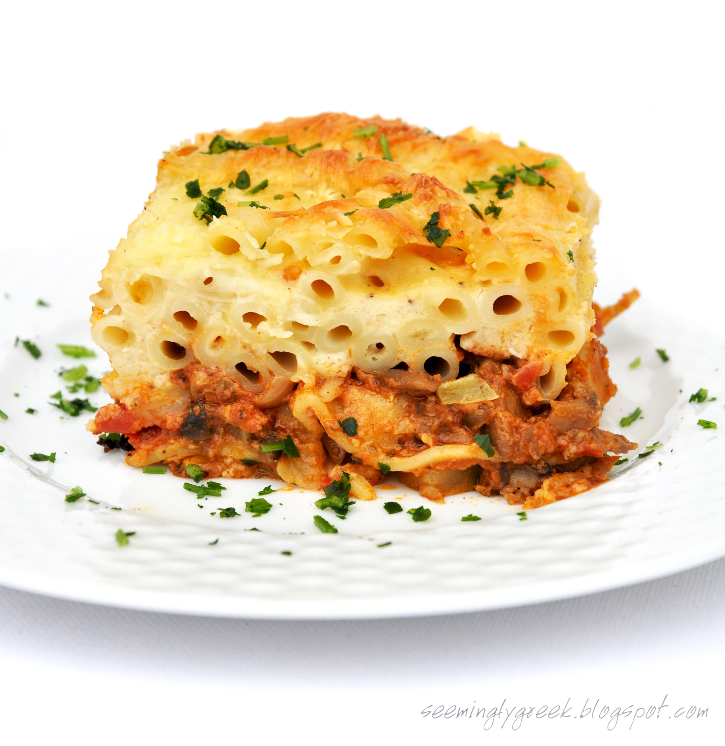 and greens pastitsio greek lasagna with pastitsio greek lasagna greek ...