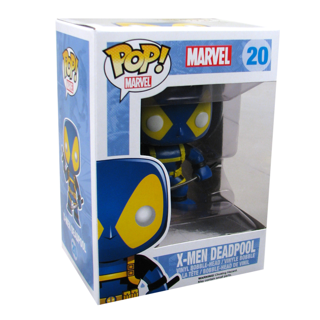 X-Men Deadpool Pop! Marvel Vinyl Figure & Packaging by Funko