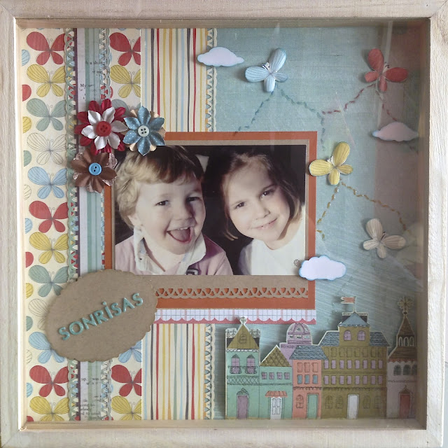 Scrap Layout sonrisas