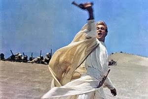 Peter O'Toole en Lawrence de Arabia