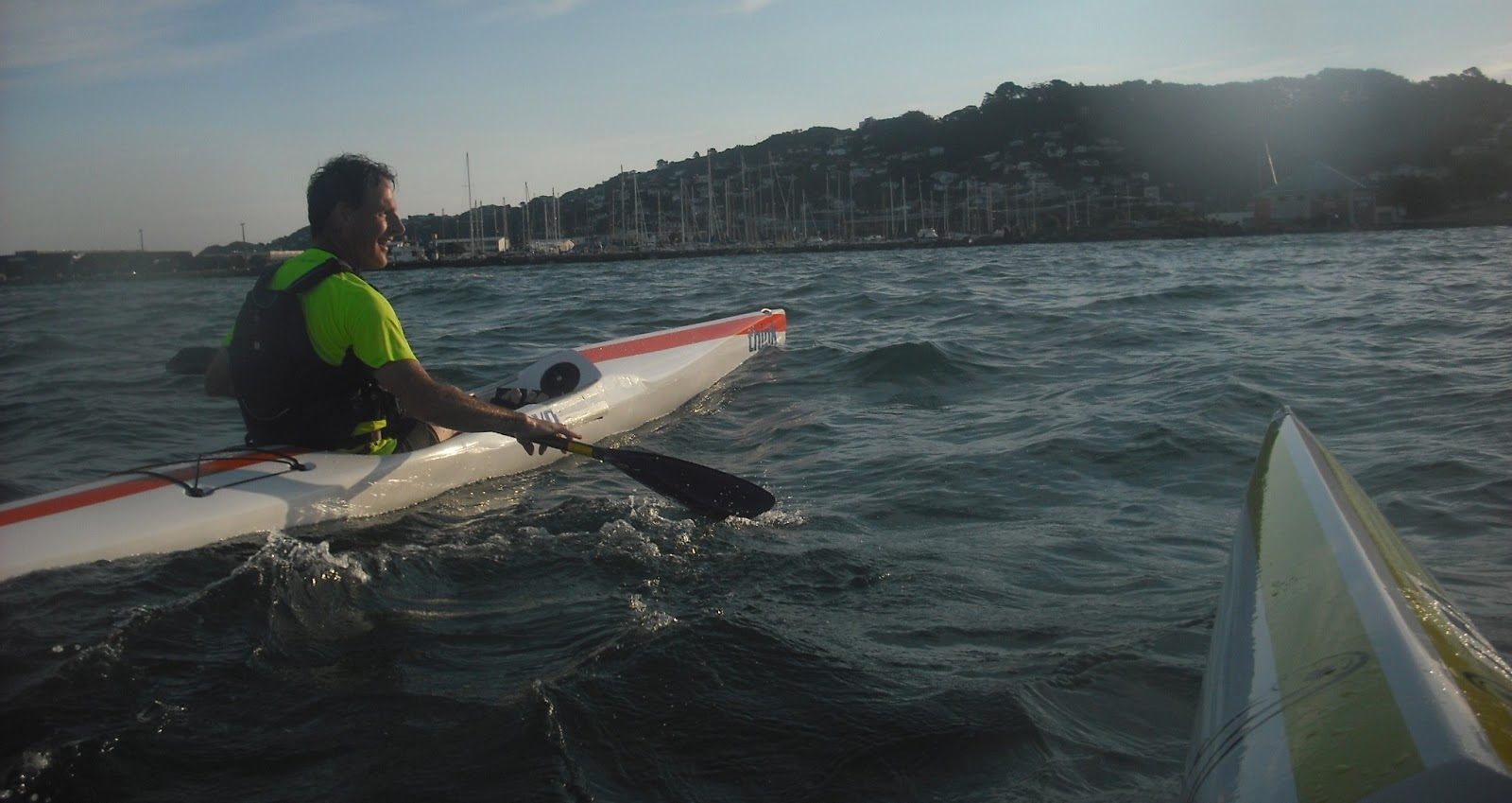 Welly Paddlers: Think surf skis dominate in Wellington