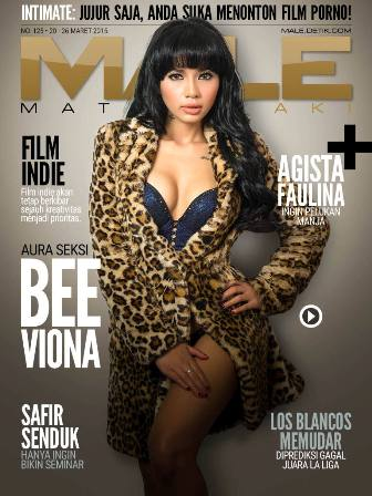 Download Gratis Majalah MALE Mata Lelaki Edisi 125 Cover Model Bee Viona MALE Mata Lelaki 125 Indonesia | Cover MALE 125 Bee Viona - Aura Sensual Menggoda | www.zone.downloadmajalah.com
