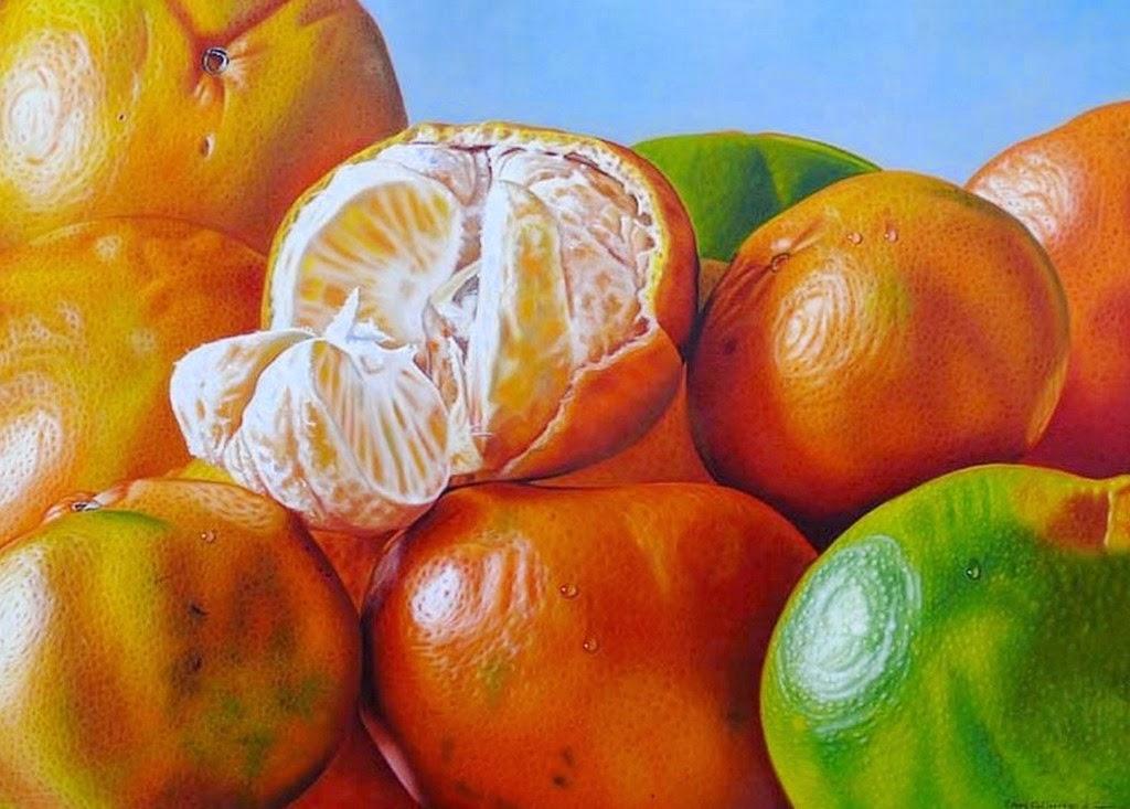 Im genes arte pinturas pinturas de frutas frescas en - Fotos de bodegones de frutas ...