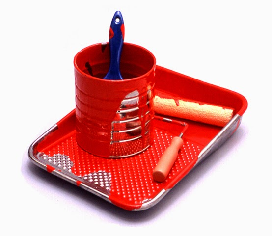 08-Paint-Tray-Victor-Spinski-Clay-Sculptures-replicating-objects-from-Daily-Life-www-designstack-co