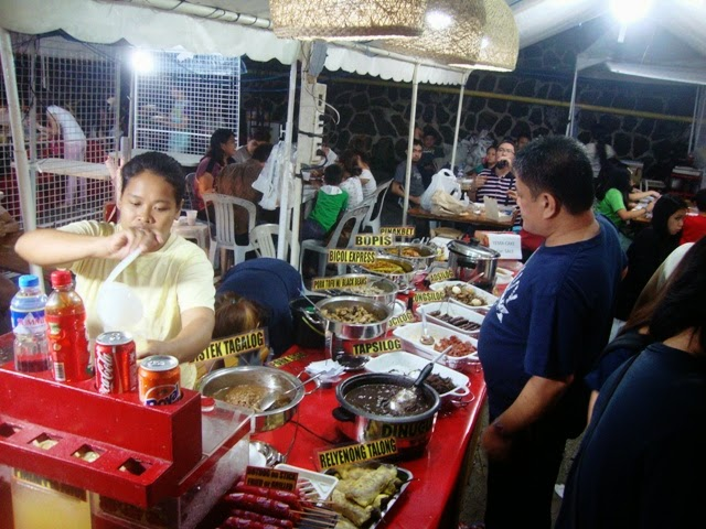Greenhills Christmas On Display Show, STREET FOOD, FOOD STALLS