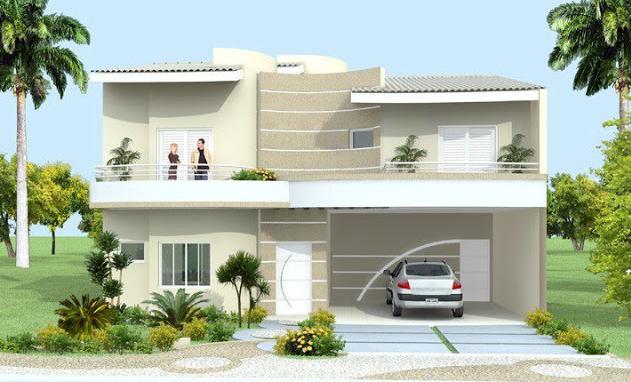 Construindo minha casa clean: calçadas residenciais modernas com ...