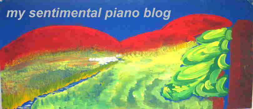 My sentimental Piano Weblog