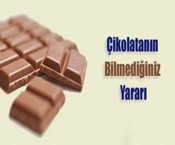 Çikolatanın yararı