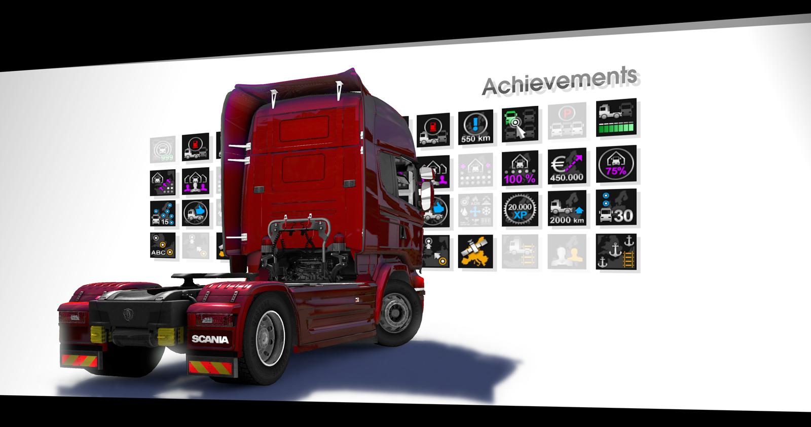 Conquistas do Steam já estão disponíveis | Euro Truck ...