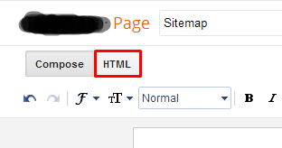 Paste di Tab HTML