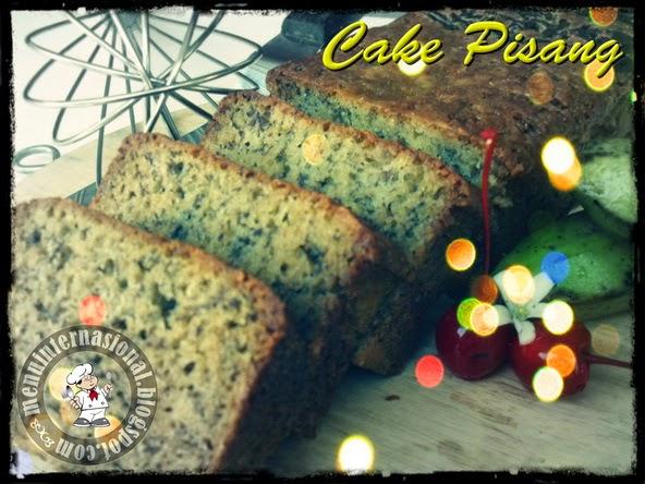 Cara Membuat Cake Pisang Nikmat dan Mak Nyuzzz
