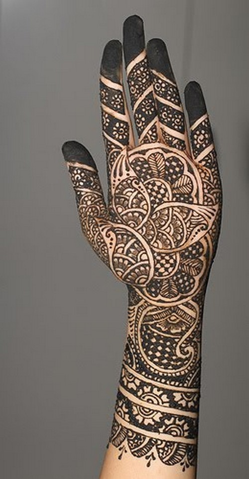Front Hand Mehndi Hand Mehndi Design