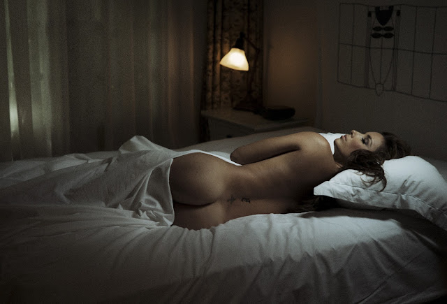 "Eva Longoria poses nude in Jork Weismann's new photo art book ""Asleep at the Chateau"""