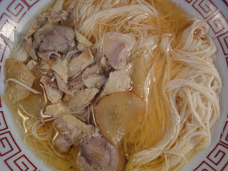 chicken noodles, chicken sesame oil noodles, Chinese noodle recipe, chinese noodles, noodle soup chicken, recipe, sesame oil chicken noodles, 麻油雞麵線