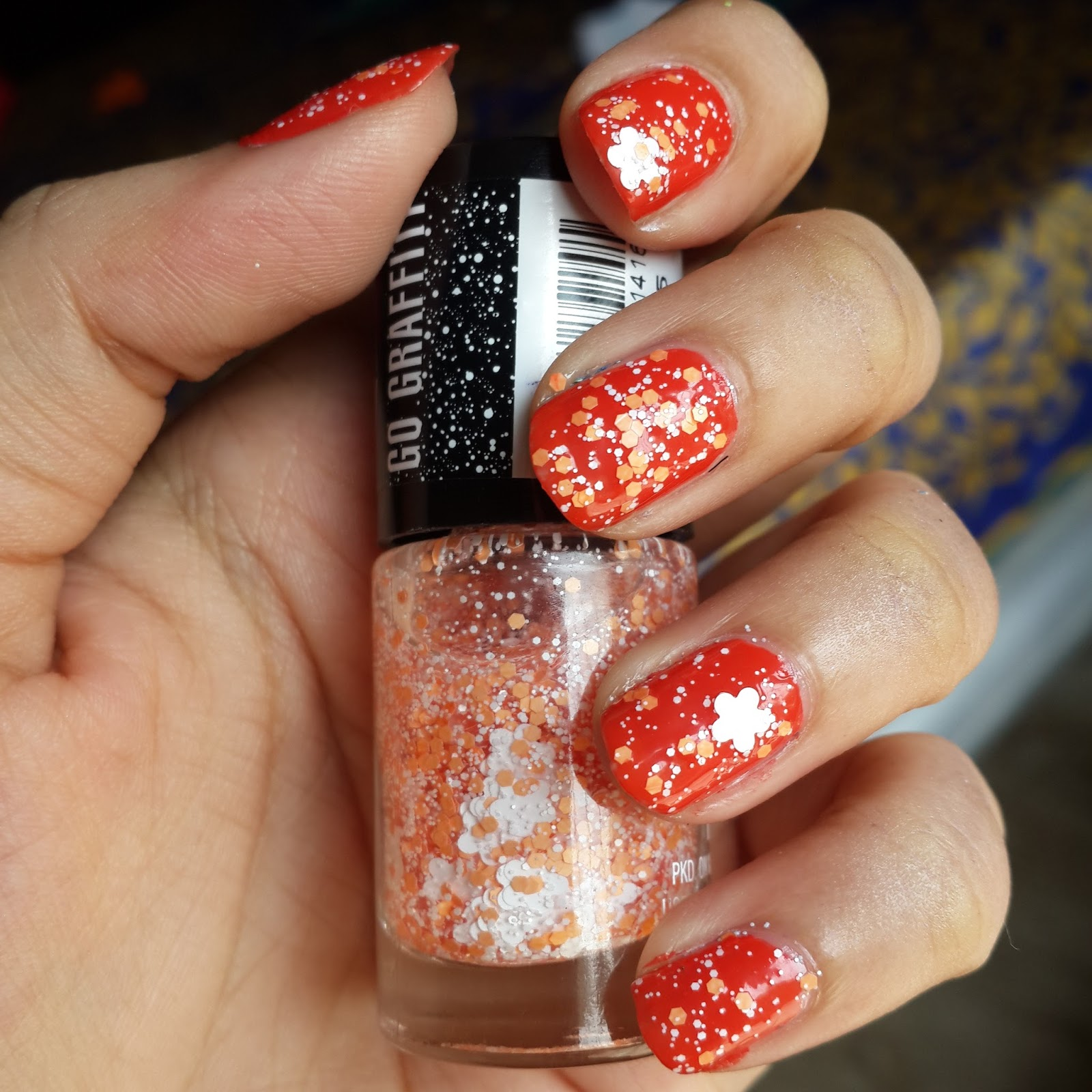 RIDZI MAKEUP: Maybelline Rebel Bouquet Collection Nail paints Review
