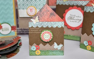 """Mini House Gift Card Holder"""