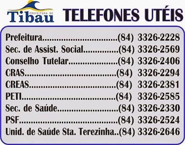TELEFONES UTÉIS