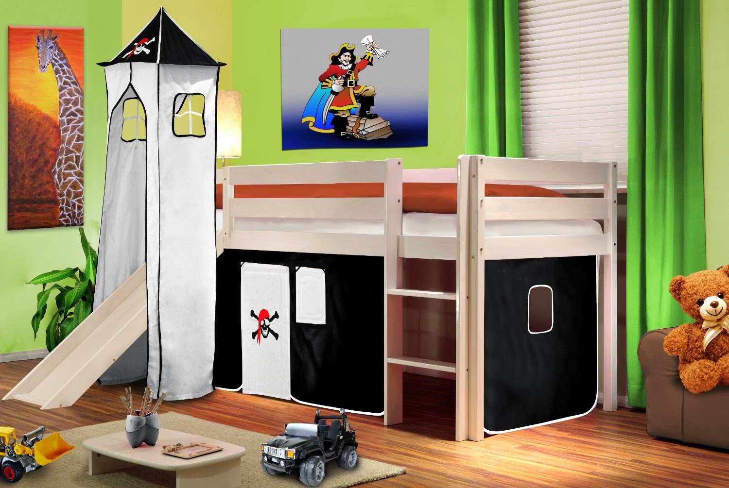 5 lits d 39 enfant originaux moins de 300 euros initiales. Black Bedroom Furniture Sets. Home Design Ideas