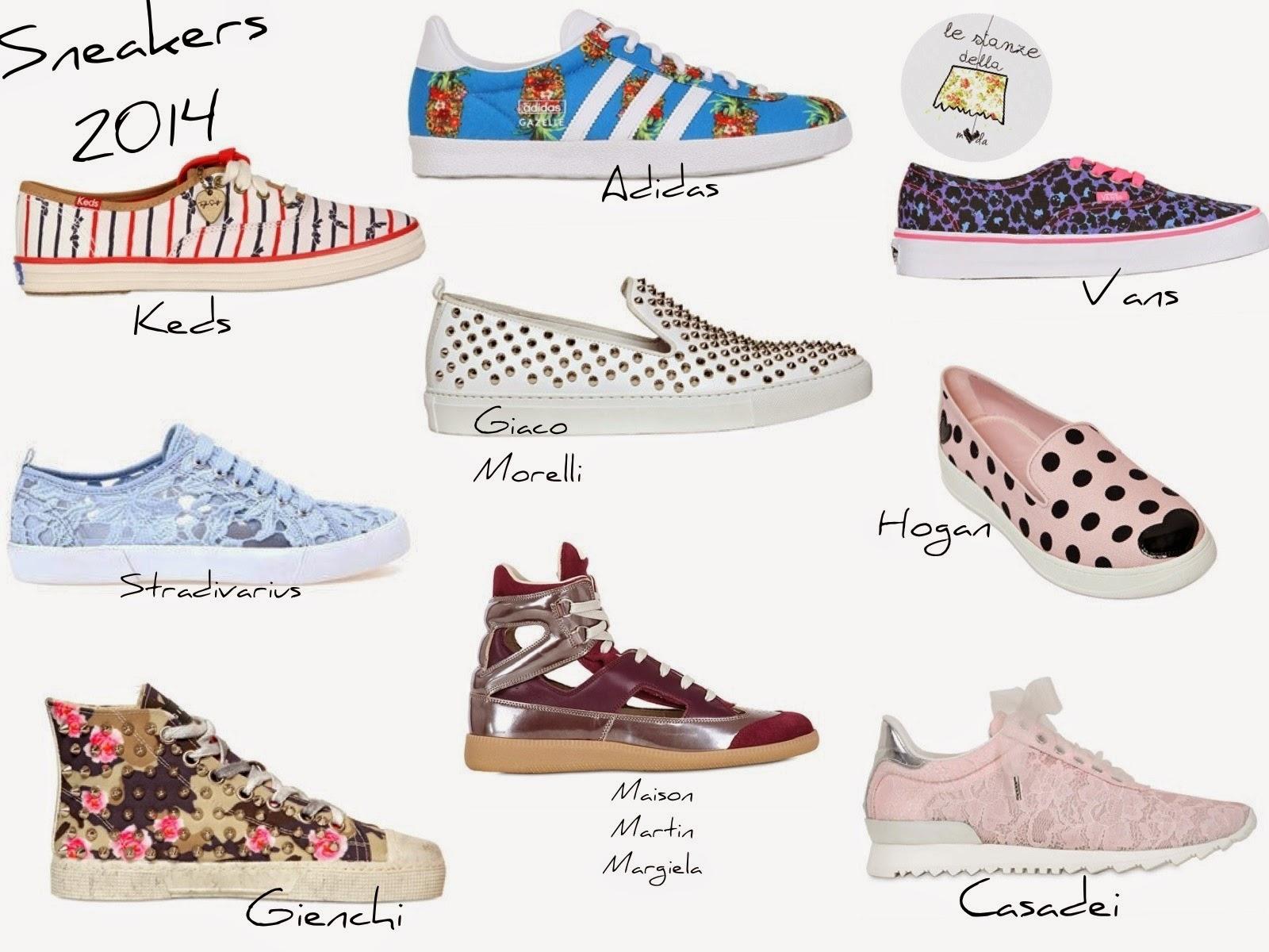 sneakers 2014, sneakers estate, scarpe 2014 estate, scarpe e scarpe