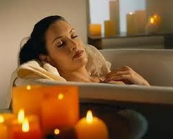Como darse un baño caliente
