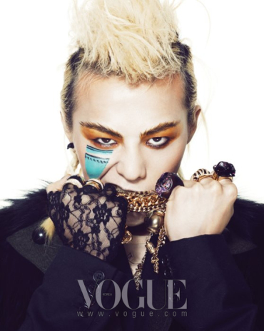 G-Dragon for Vogue Korea 2009