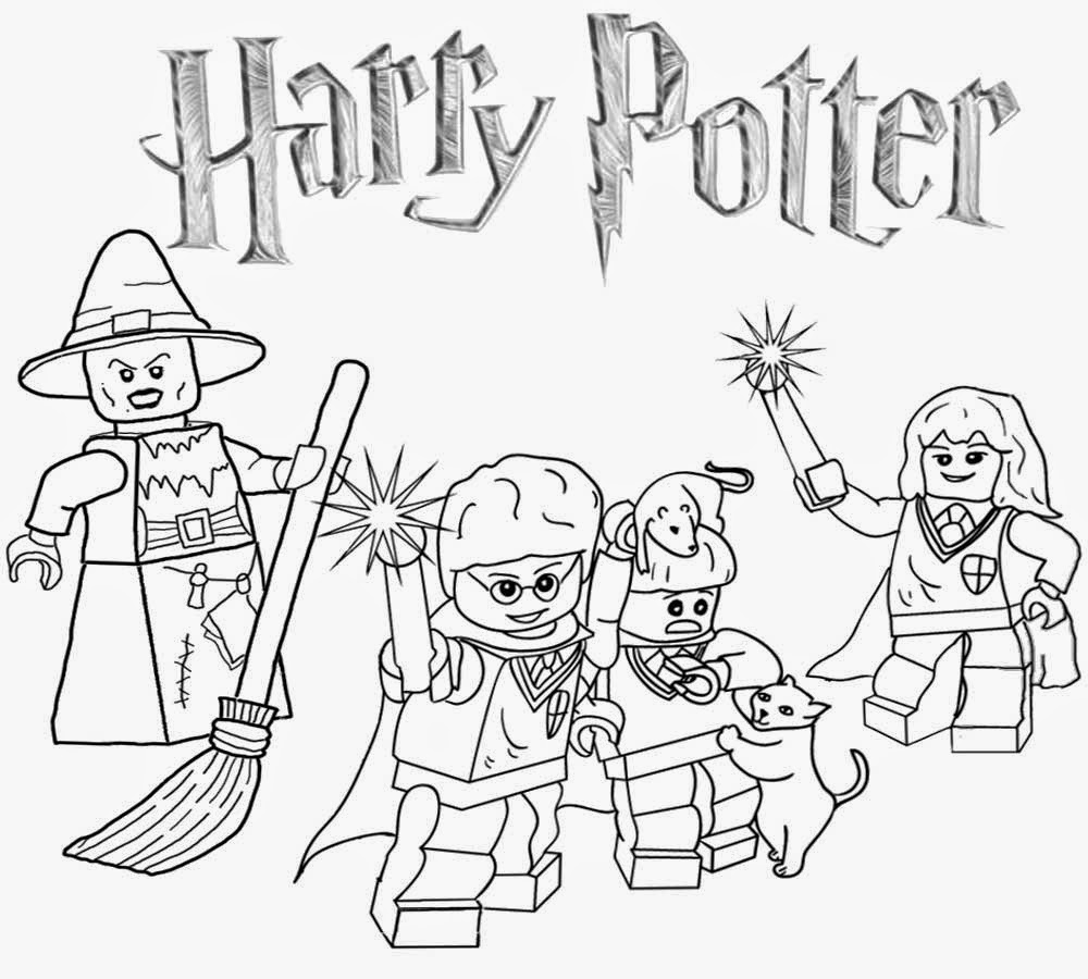 Free Coloring Pages Printable Pictures To Color Kids Lego Harry Potter Coloring Pages