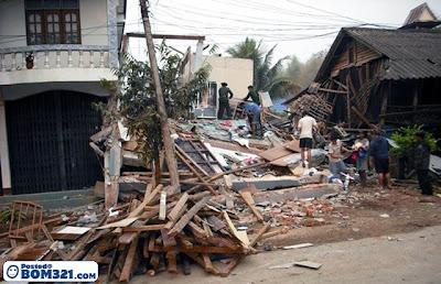 Gempa Bumi di Myanmar