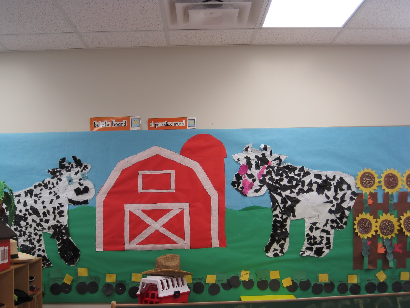 Farm themed classrooms clutter free classroom for Farm door ideas