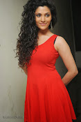 Saiyami Kher Hot in Red at Rey Trailer launch-thumbnail-15