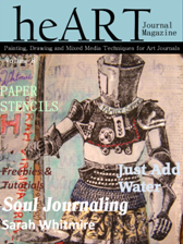 Artist Martice Smith II published in heART Journal Magazine, Issue 8!