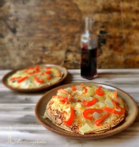 En tu cocina y en la mía: Taco Quesadilla Pizza