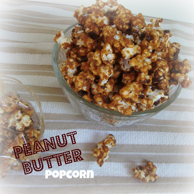 Peanut Butter Popcorn from Chocolate, Chocolate, and More Chocolate