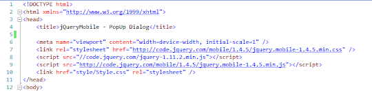 jQueryMobile App using Navbars For Android and BlackBerry    2