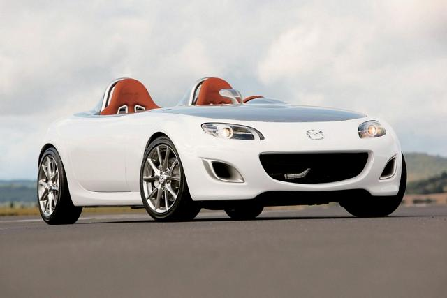 New special modification of Mazda MX-5 roadster Concept