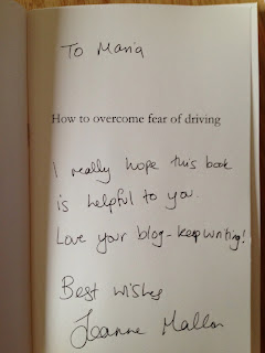 How Joanne Mallon's How to overcome fear of driving helped me