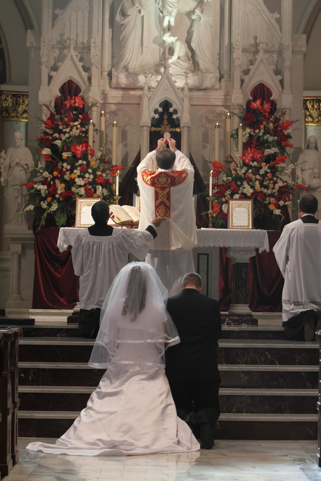 southern orders my second sung nuptial mass in the