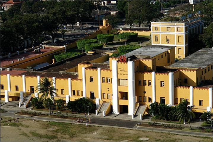 Avanzan obras renovadoras del rea monumental 26 de julio for Ciudad santiago villas