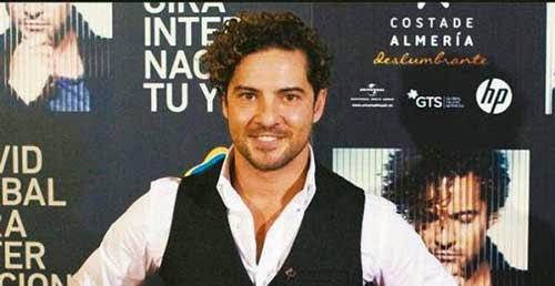 Negocian la llegada de David Bisbal a Tarija