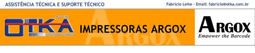 Impressoras Argox Assistência técnica e Suporte